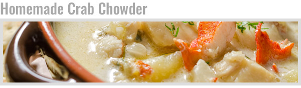 Homemade Crab Chowder